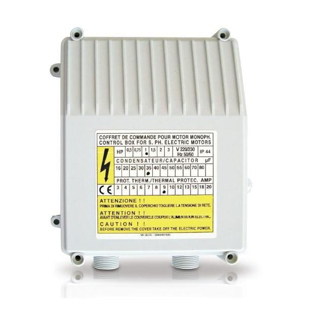 Controlbox pro jednofázová ponorná čerpadla