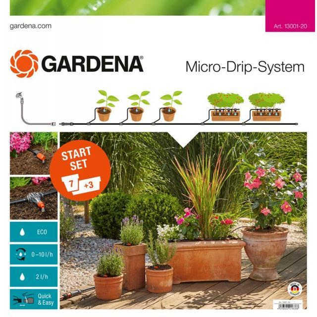 GARDENA Startovací sada pro rostliny v květináčích M (13001)