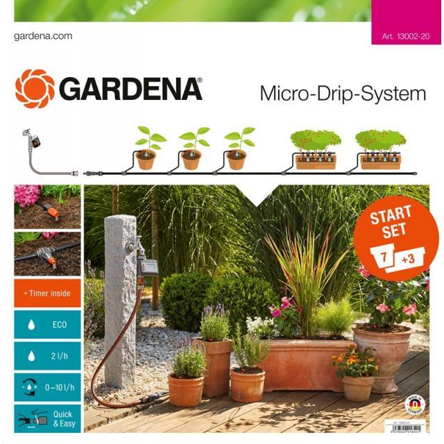 Startovací sada pro rostliny v květináčích M automatic (13002)