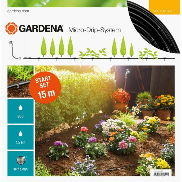 GARDENA Startovací sada pro rostliny v řádcích S (13010)