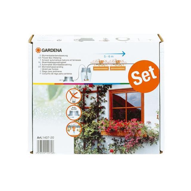 GARDENA automatické zavlažování květinových truhlíků(1407)