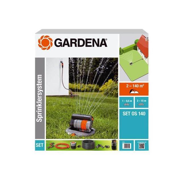 GARDENA kompletní sada se čtyřplošným zadešťovačem OS 140 (8221-20) Odborné poradenství včetně záručního a pozáručního servisu