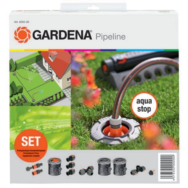 GARDENA Startovní sada pro zahradní systém Pipeline (8255-20) Odborné poradenství včetně záručního a pozáručního servisu