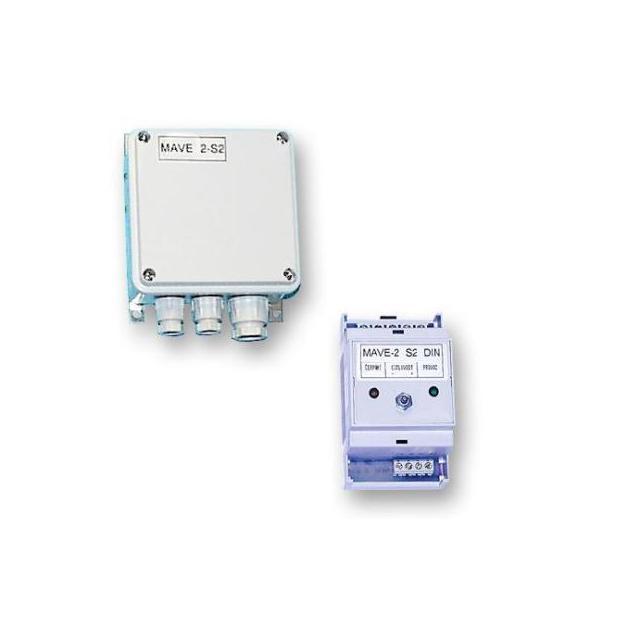 MAVE 2-S-2 hlídač hladiny , DIN - montáž na lištu (IP 20)