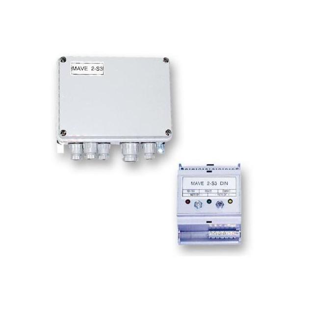 Hlídač hladiny 2 S3, DIN - montáž na lištu (IP 20)