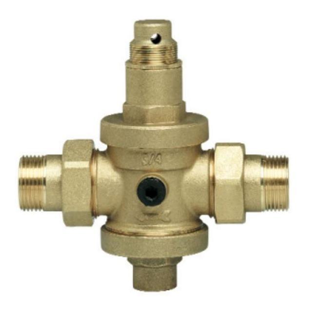GEOS redukční ventily PN16 , Mosazný redukční ventil 3/4