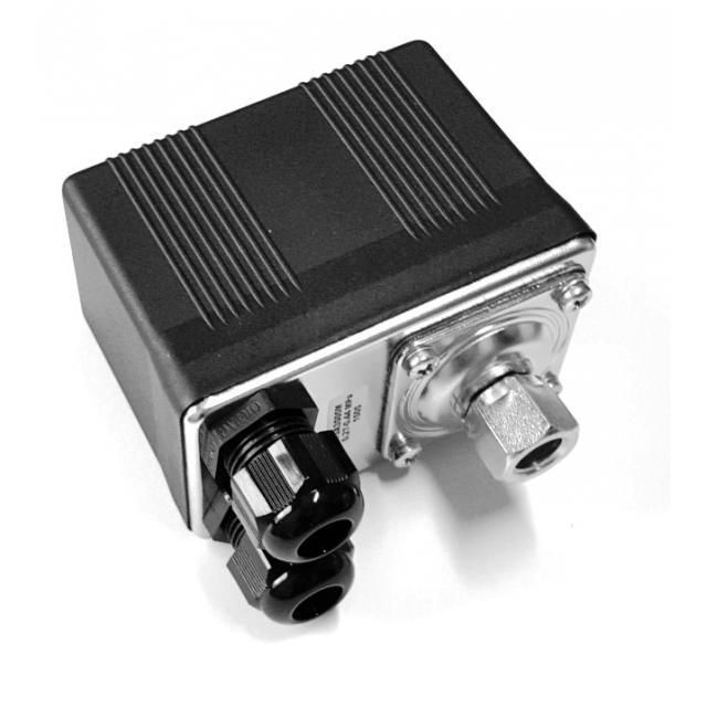 Tlakový spínač TSA3S 05 - M, spínač tlakový TSA305 M 0,12-0,23 MPa