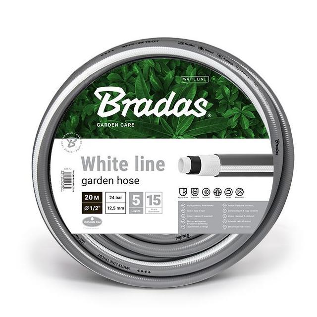 """BRADAS White Line 1/2"""" - 20m"""